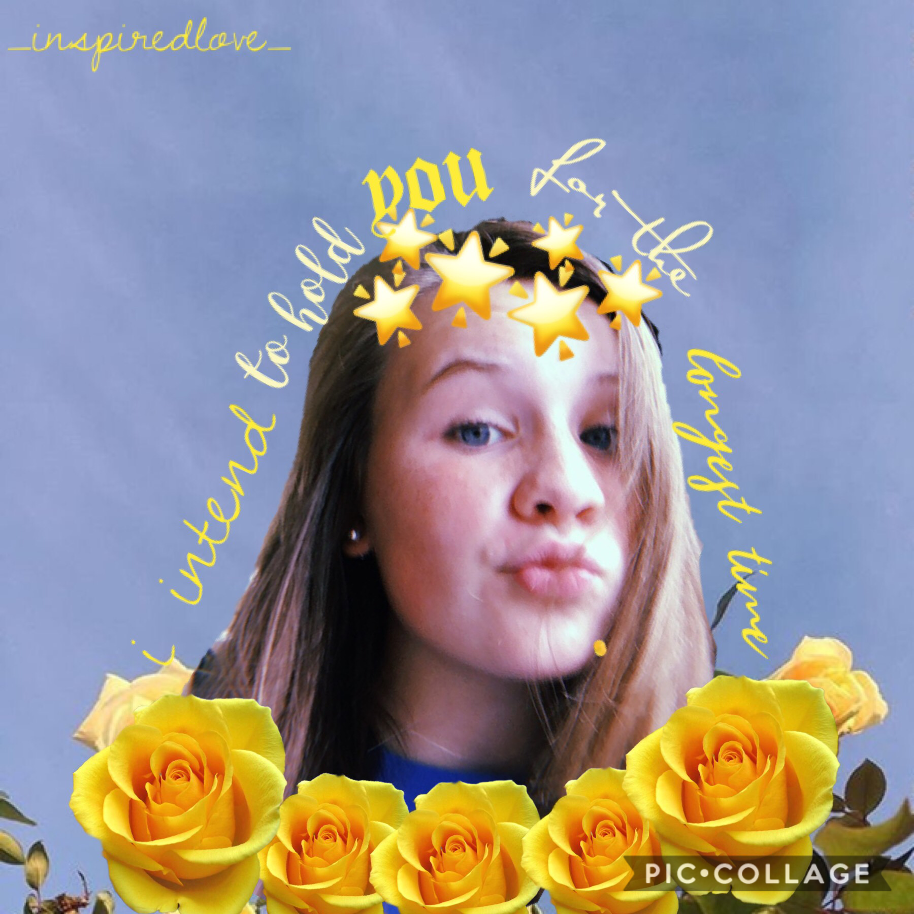 well, this was unnecessary and definitely not asked for...😂 but i was bored and so i decided to do a post with my face soooo yep. this is me! anywaysss i hope you have a great day/night💖