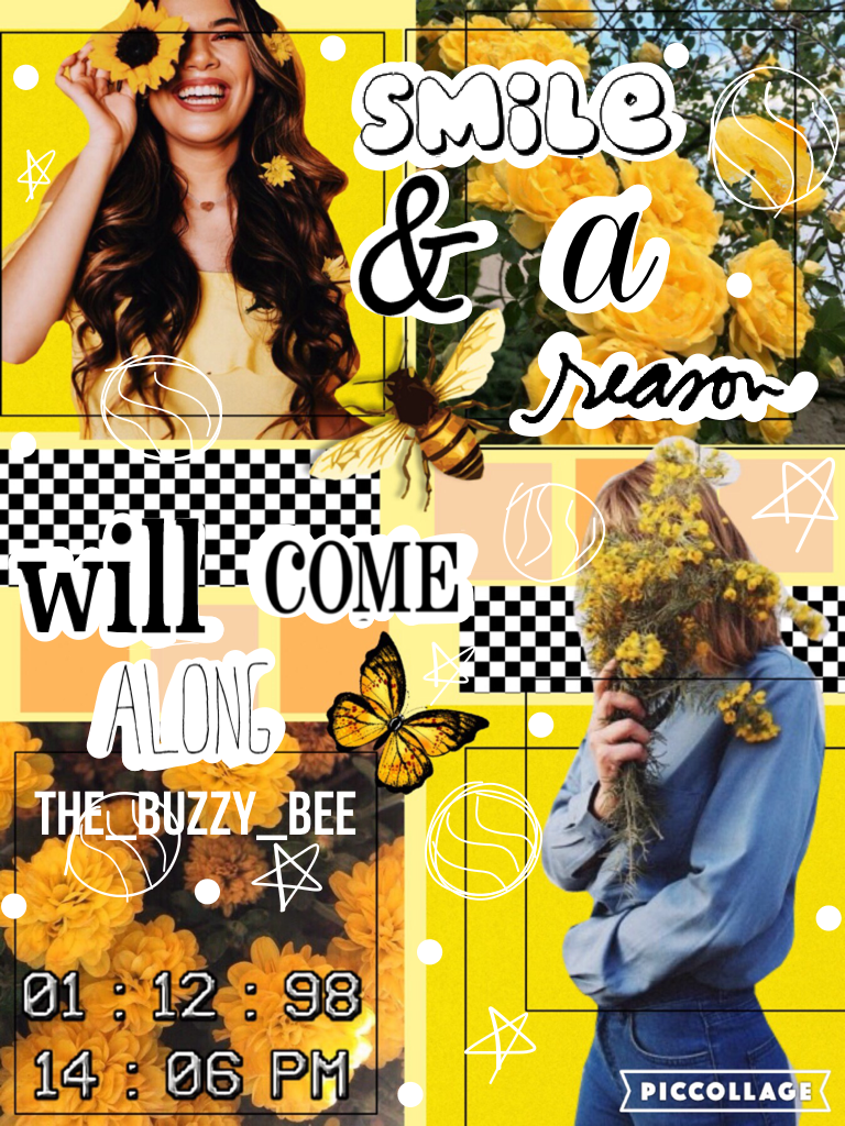 Hello. I haven't posted in a bit because I didn't have that much inspiration. If you guys have any collage suggestions please leave a comment. By the way, I changed my username from -TheNerdyRavenclaw- to The_Buzzy_Bee just to shorten it🐝💛