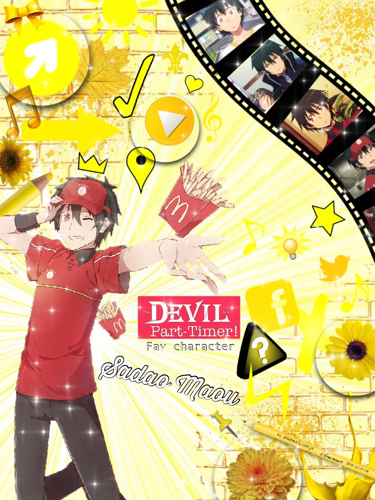 Fav character series: The Devil is a Part-Timer - Sadao Maou