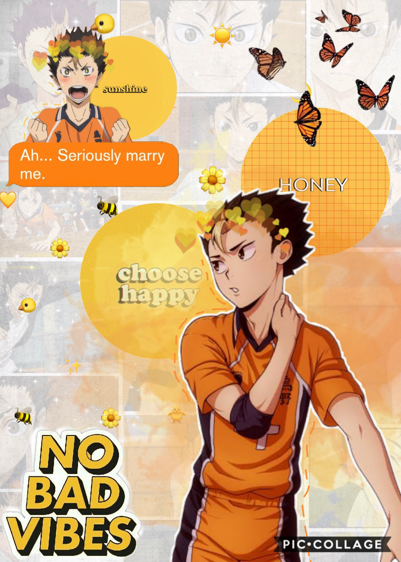 Err, this was requested by @r0lling_thunder. I usually don't take requests, but it's whatever I guess. As you can tell, I had no idea or inspiration at all, that's also why it took me so long to post this. I'll be making more Nishinoya edits in the future
