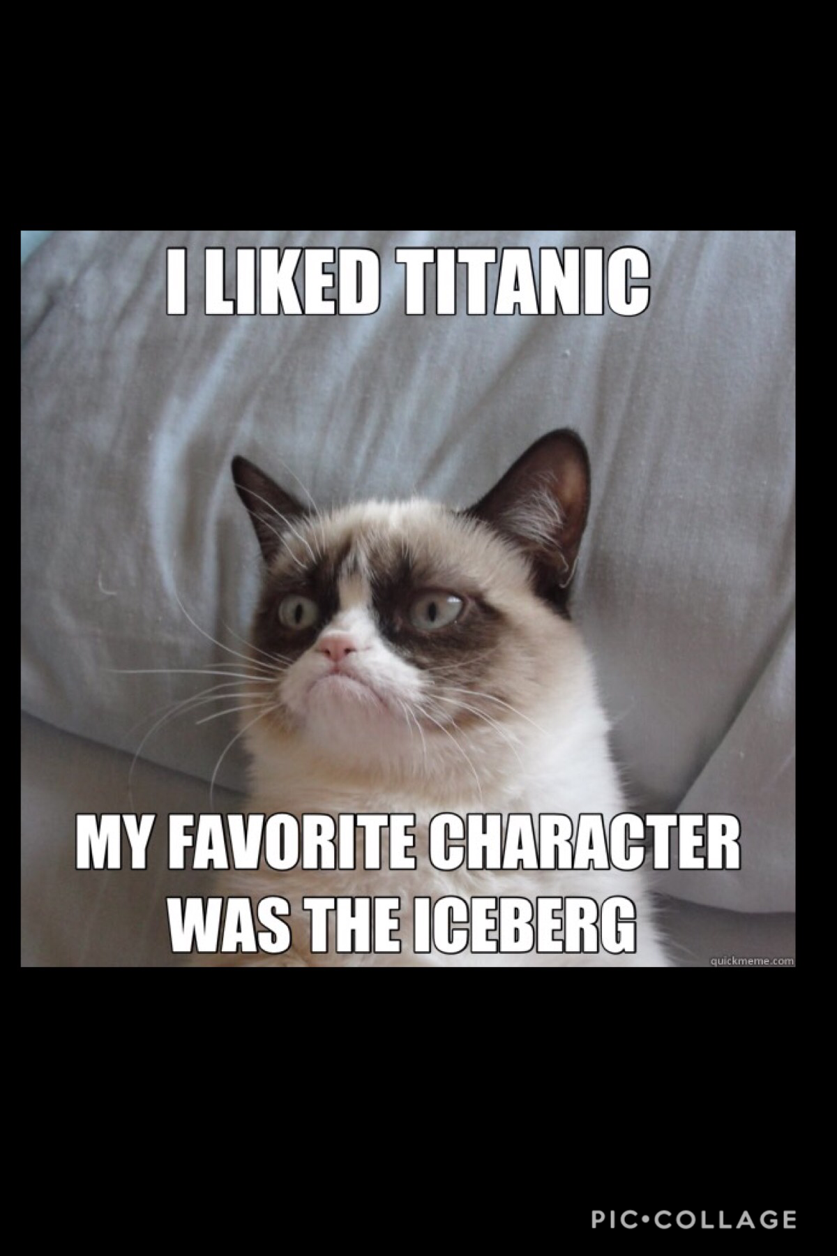 My favouite character was the iceberg too.