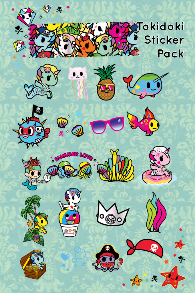 Tokidoki Sticker Pack