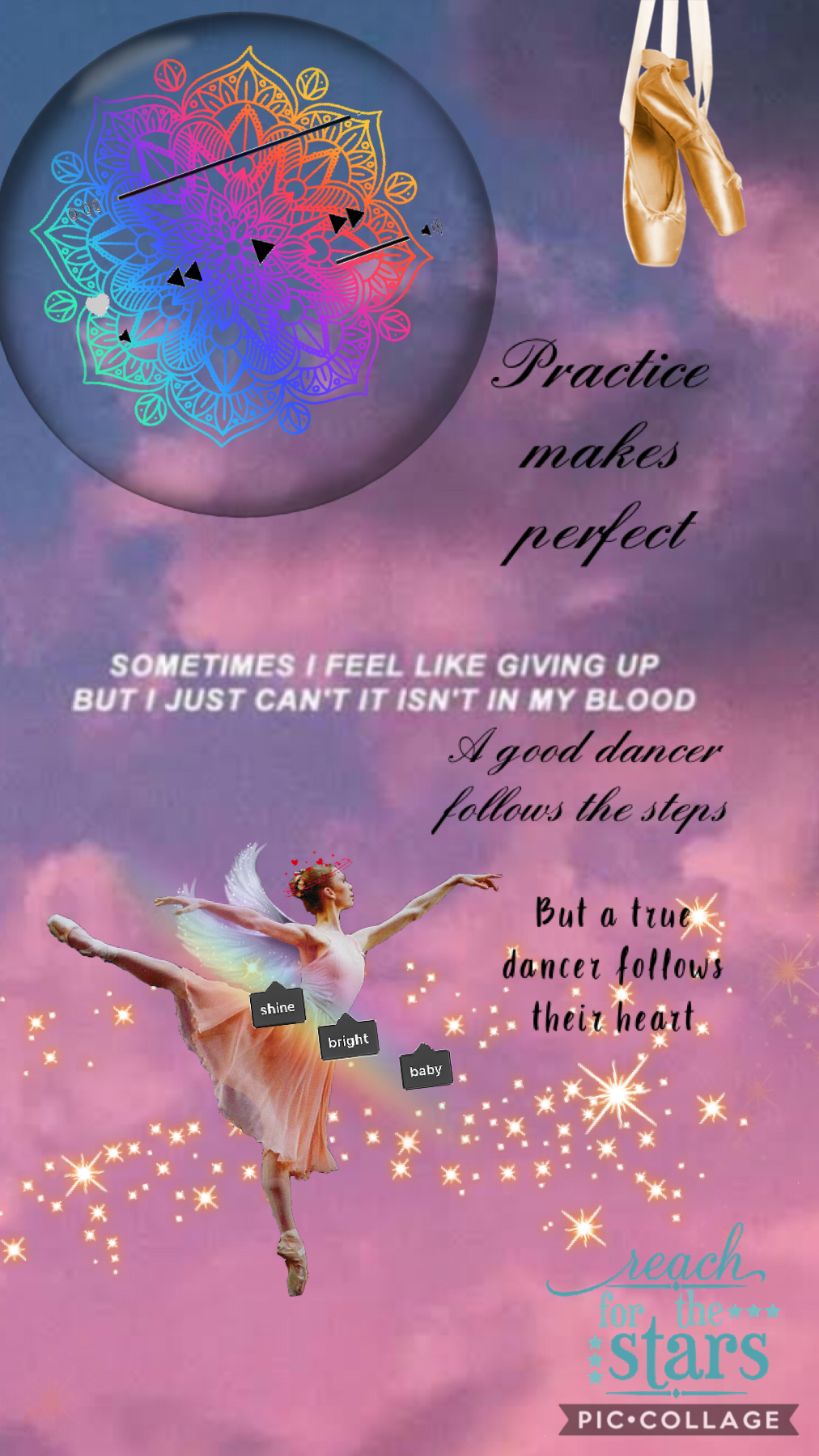 💗Tap💗  This collage was inspired by my dancing! Yesterday it was actually international dance day! So my dance school(Anna Lee school of dance) made a video for it! So I made this for international dance day.