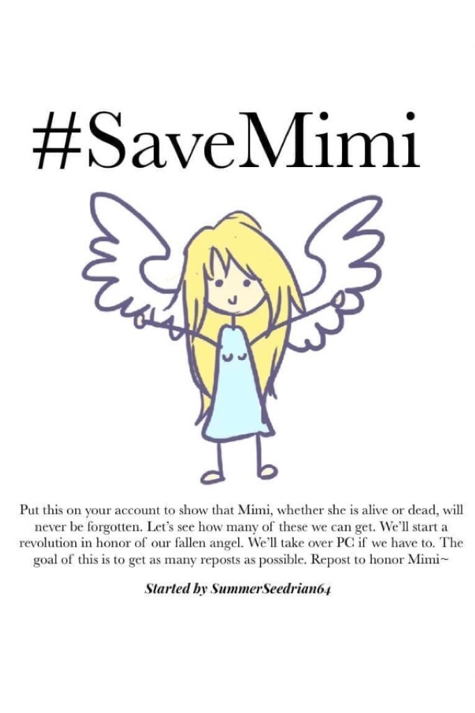 #SaveMimi!!! 🙈🙉🙊 😊❤️Come on my Flowers! Let's do this! Don't let me down! 😂❤️