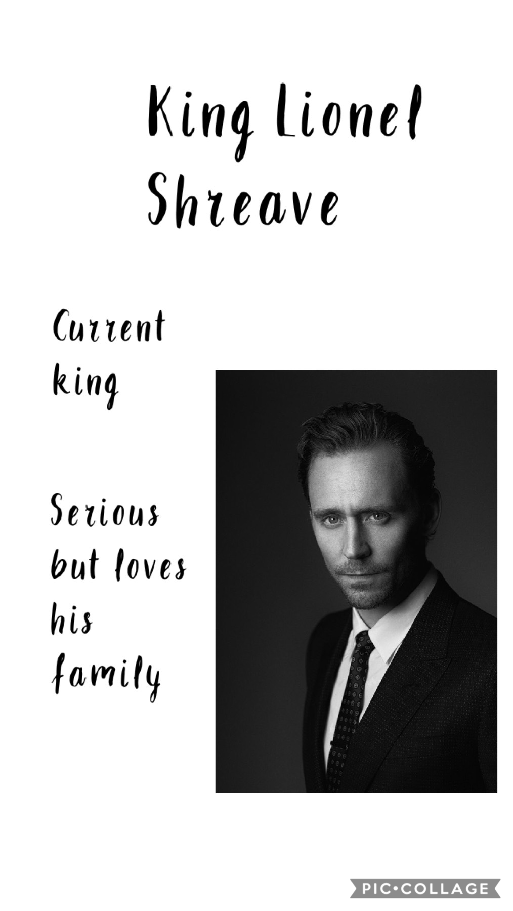 Introducing king Lionel schreave