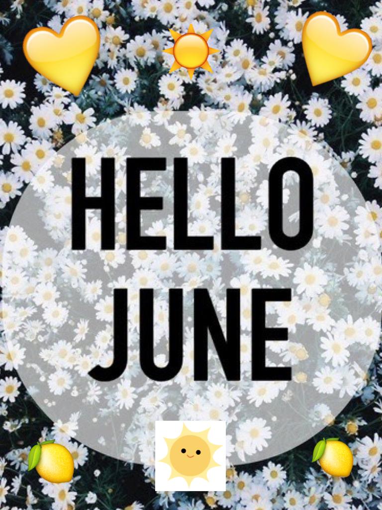 привет июнь картинки полость состоит