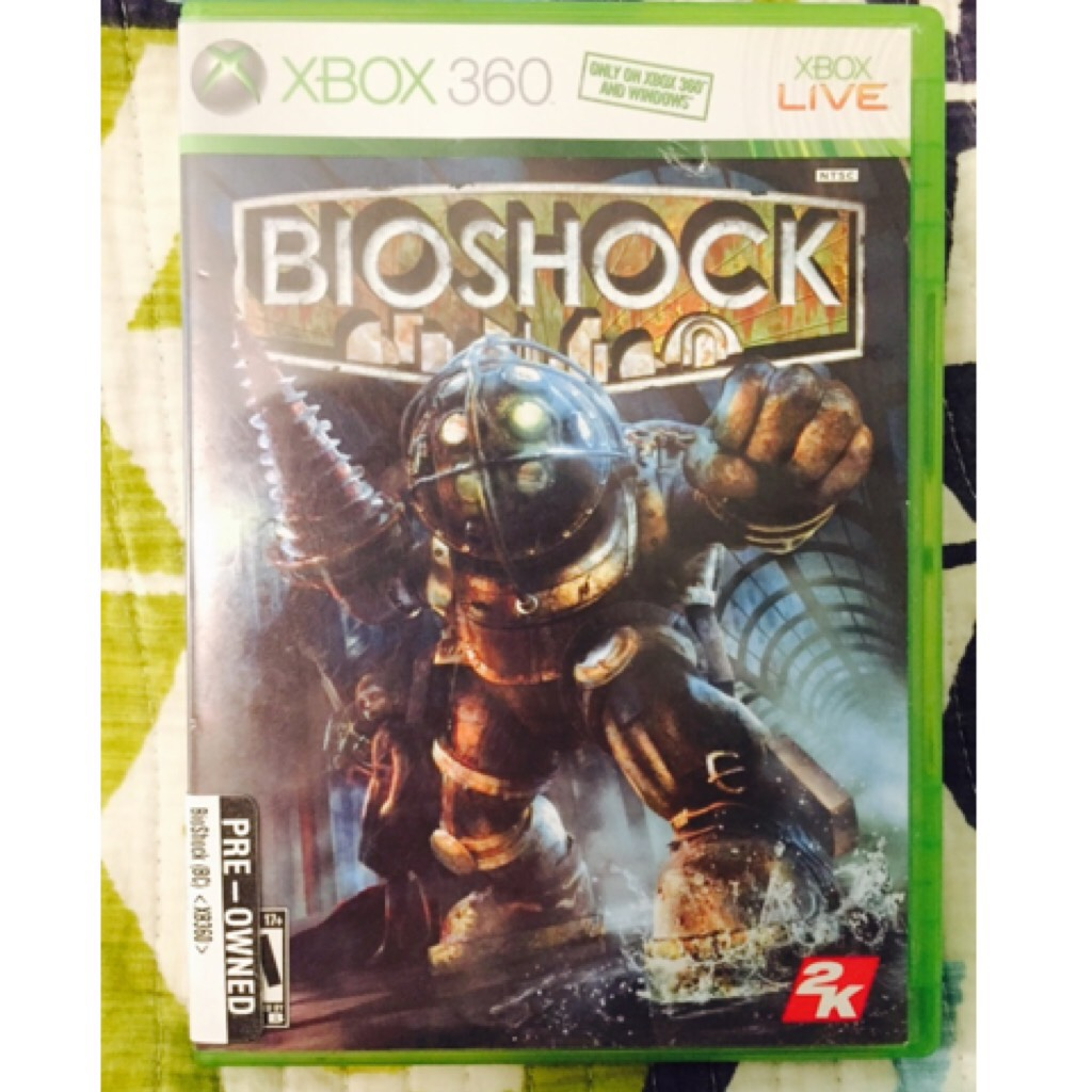 Sorry for going on private, I had to deal with some personal issues. On a happier note, I finally bought BioShock for myself after playing it at a friends.