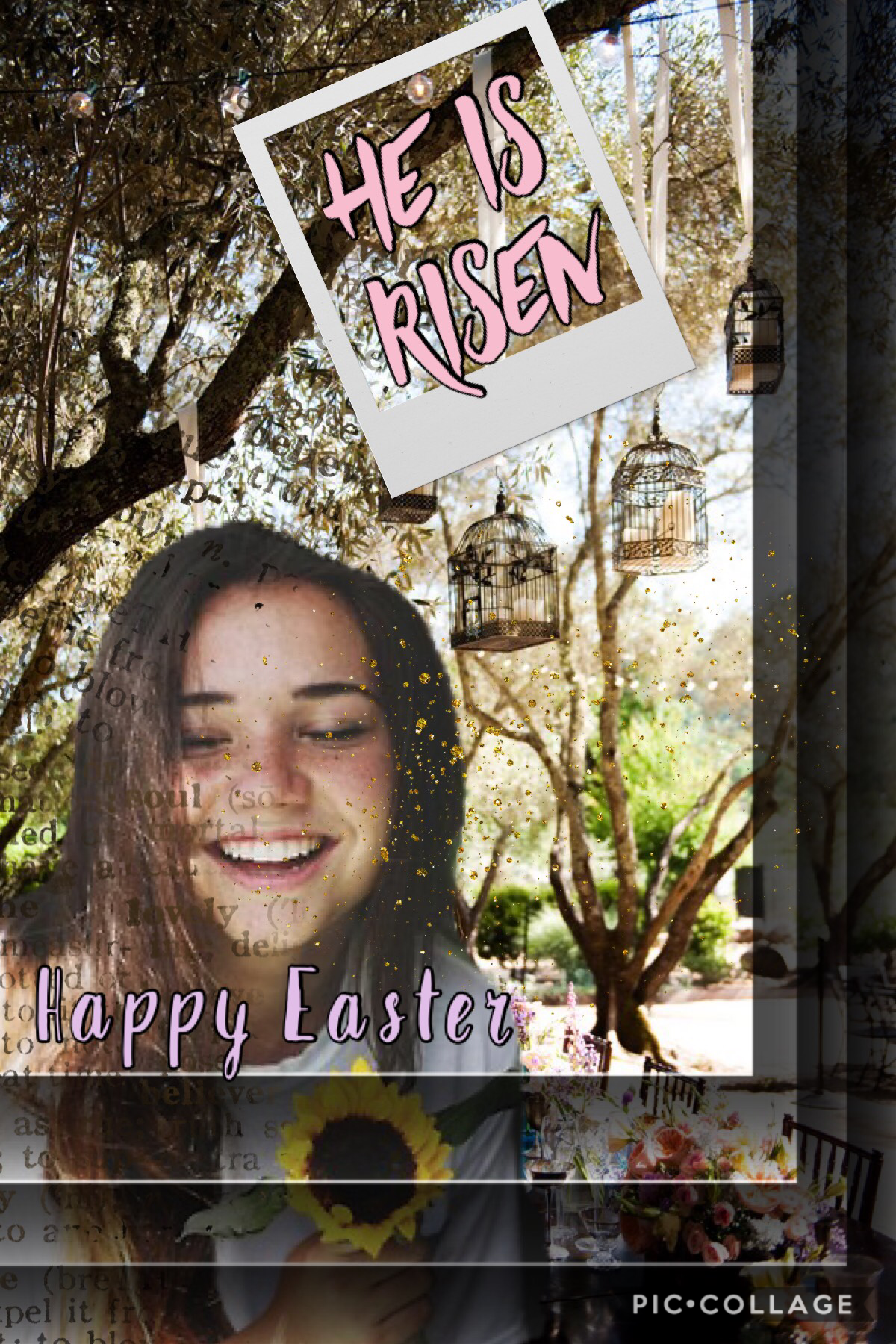Happy Easter don't forget about what it's about!