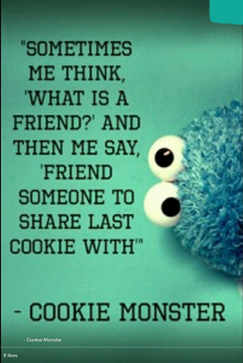 cookie monster quotes - 736×981