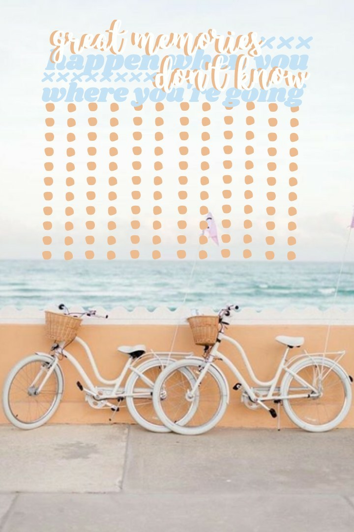 🚲🚲 I had my last ap today so that means I'm officially done with school! I'm so excited for summer! side note: I'm running out of bgs to use so if u guys could remix some that would be great!