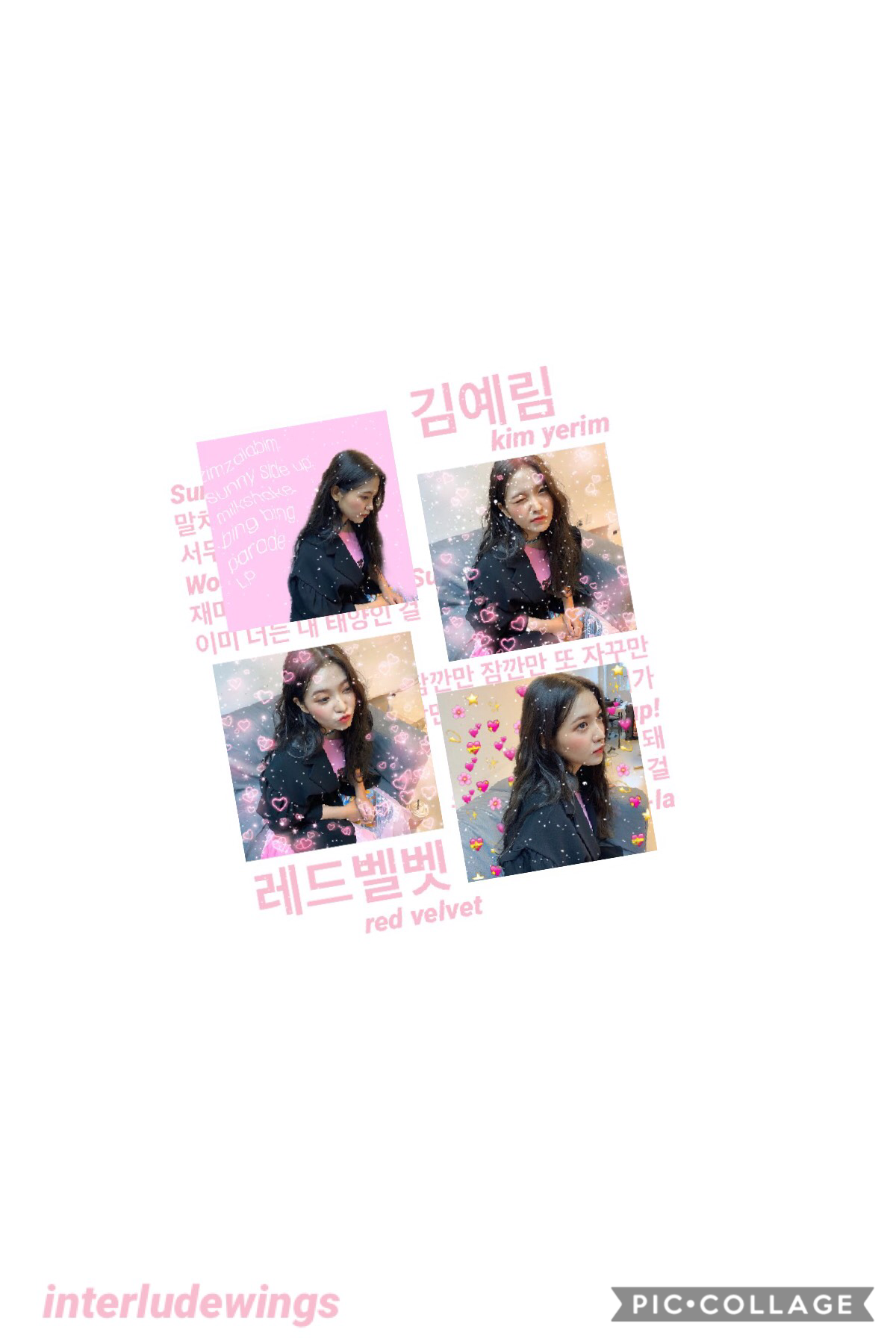 💗 open 💗  yeri~red velvet  so uhhh i really don't like zimzalabim like. at all. but the rest of the mini is so good!! 🤩🤩 i used picsart for some of this edit but idk how i feel abt it 🤔