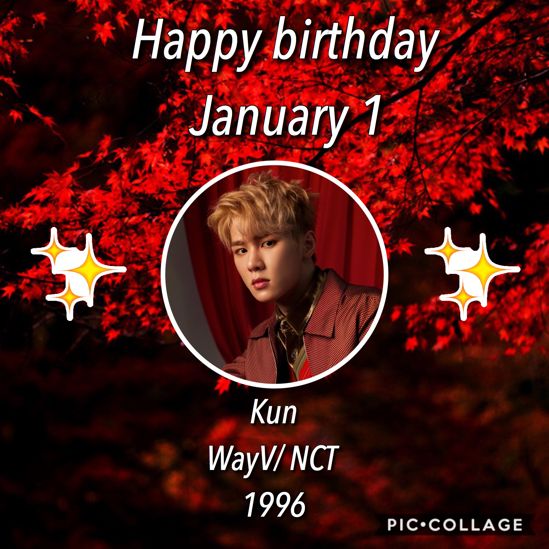 •🎈❄️• Happy birthday Kun!! Happy New Years to you all! I wish the best for everyone in 2020 as well as this account☺️💞 ⛄️❄️~Whoop~❄️⛄️