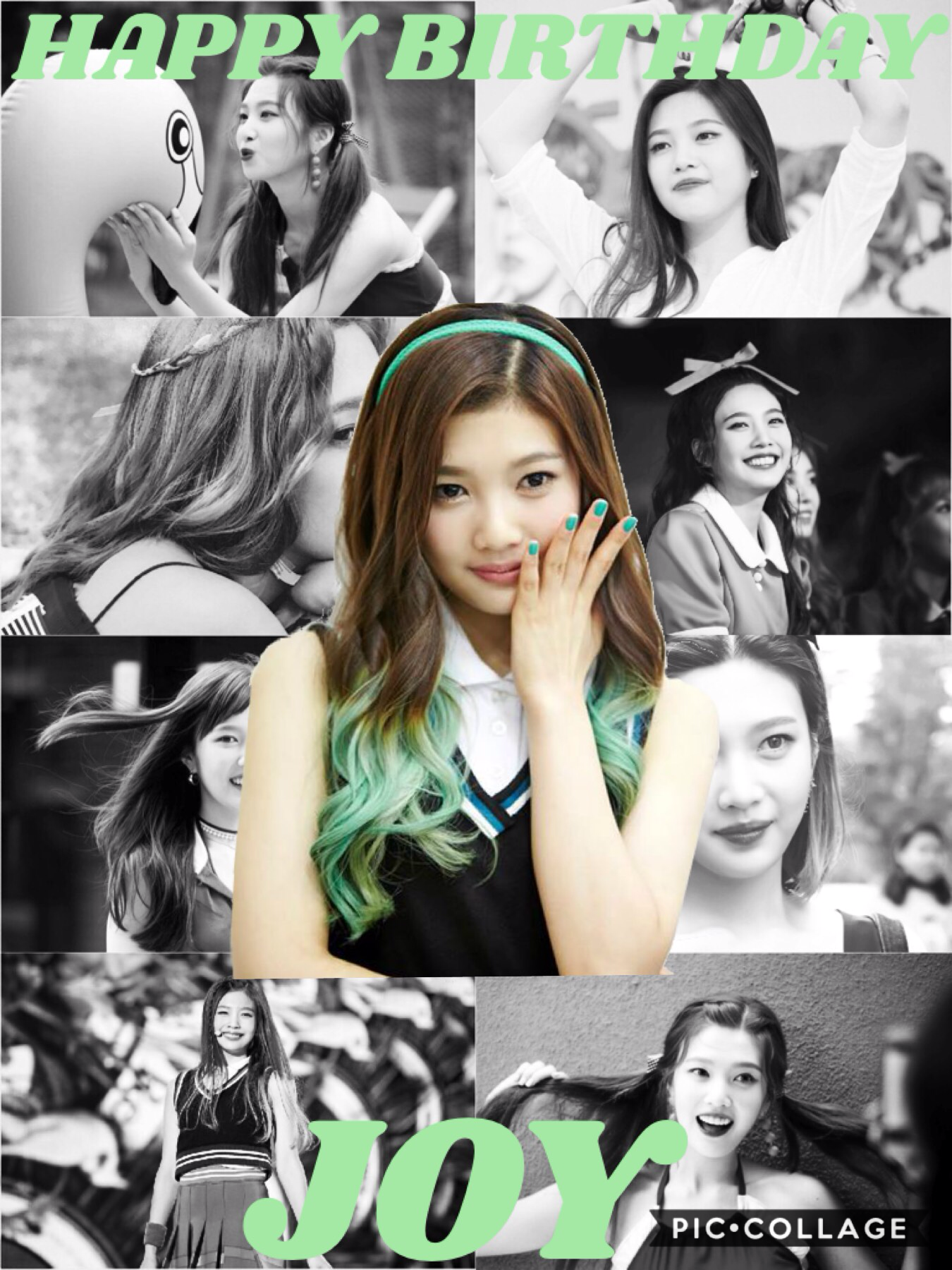 🎉HAPPY BIRTHDAY JOY🎉 Joy is my bias from Red Velvet😁