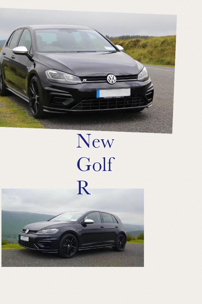 New Golf R