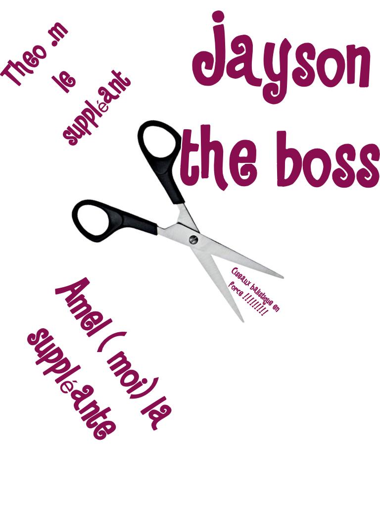 Jayson the boss