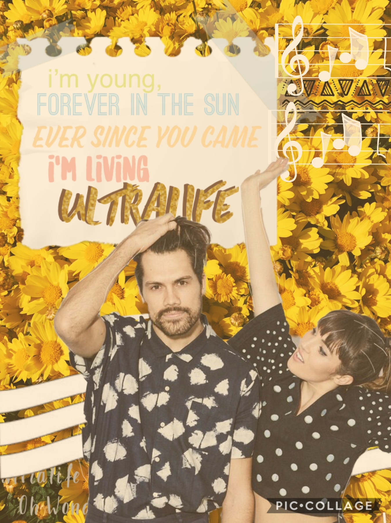 I love this song so much! Ultralife by Oh Wonder!! you should go listen to it if u haven't already! what's your favorite song? 💛