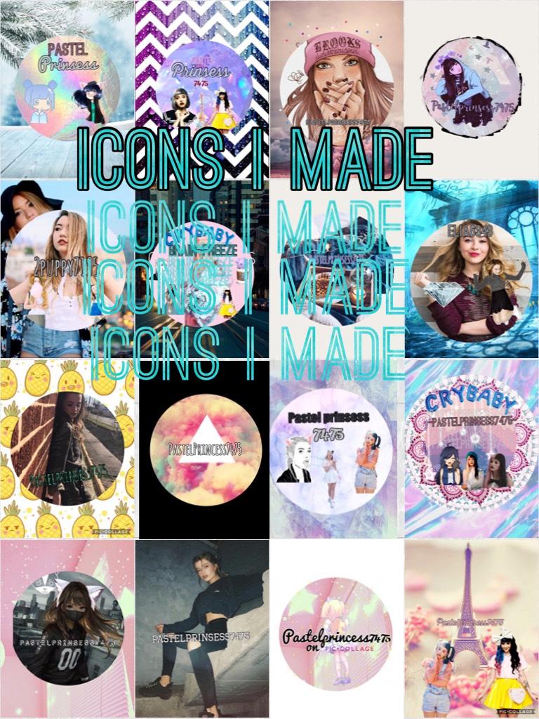 Icons I made