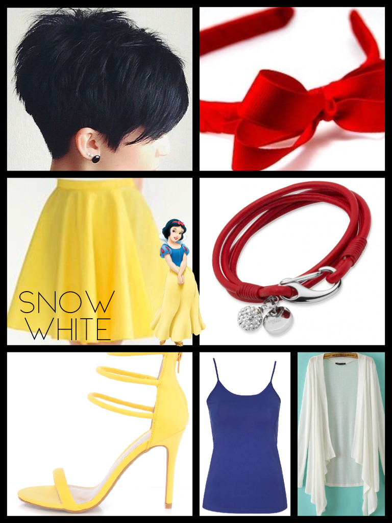 Snow White outfit😬