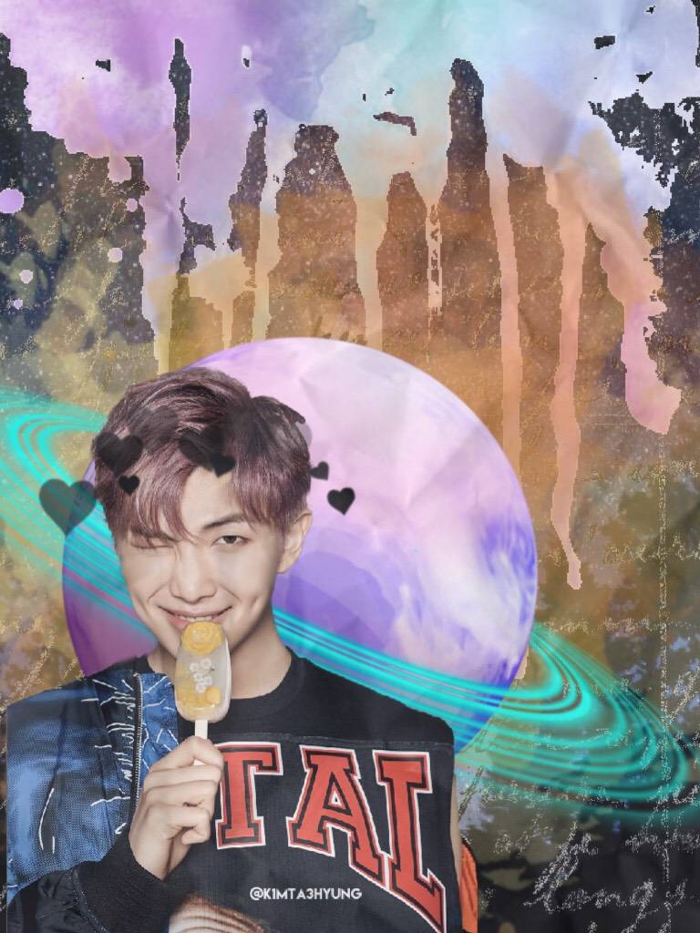 Tap💕  Kim Namjoon~ He's the most precious thing ever.