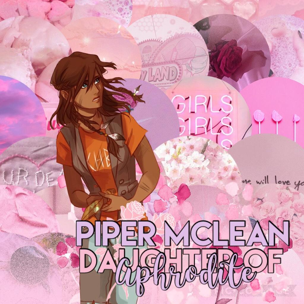 💗💗💗 Piper McLean, Daughter of Aphrodite. Beauty Queen.