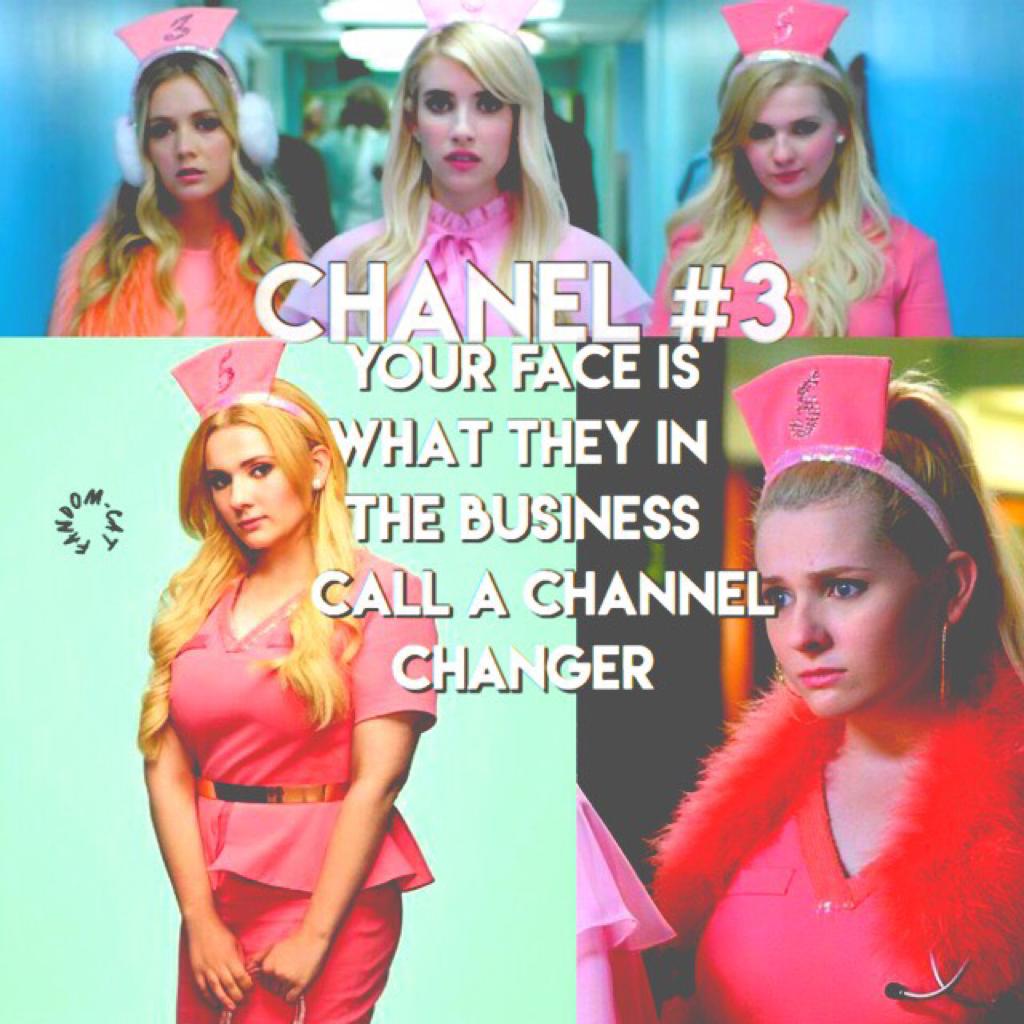 Season 2 started 2 weeks ago!🔪😱 QOTD- Favorite Chanel?💕 AOTD- Chanel Oberlin or Chanel #3💖🔪🌟