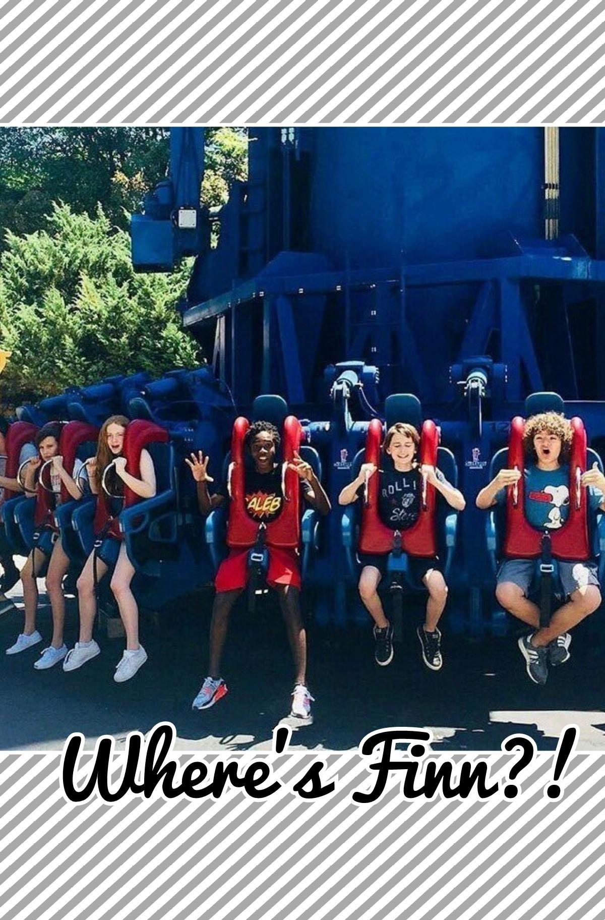 Where's Finn?!