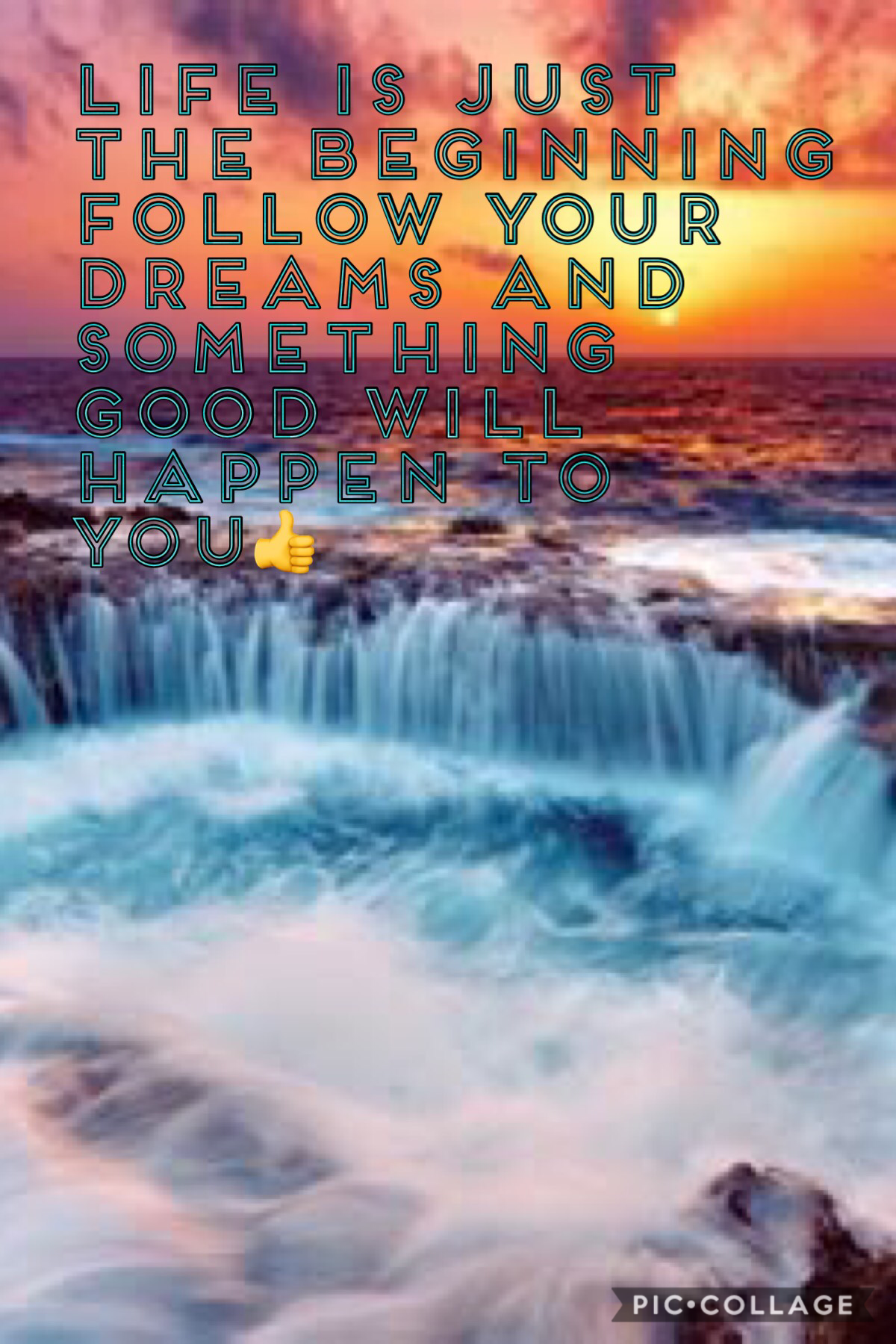DREAM BIG DREAMS AND YOU WILL SUCCEED.