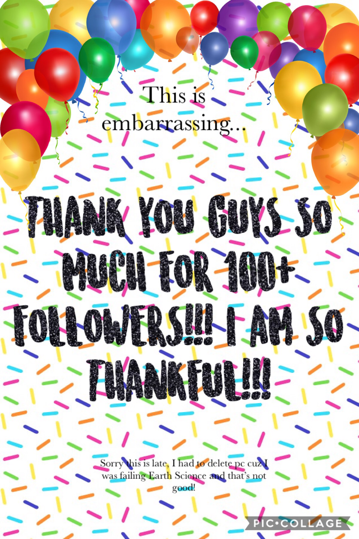 tapitty tapitty!            THANK YOU GUYS SO MUCH! I am so thankful for everyone who followed me especially those who have supported me from the start! Give yourselves a pat on the back (or high five but that's kinda sad 😂)   QOTD: What's your fav color?