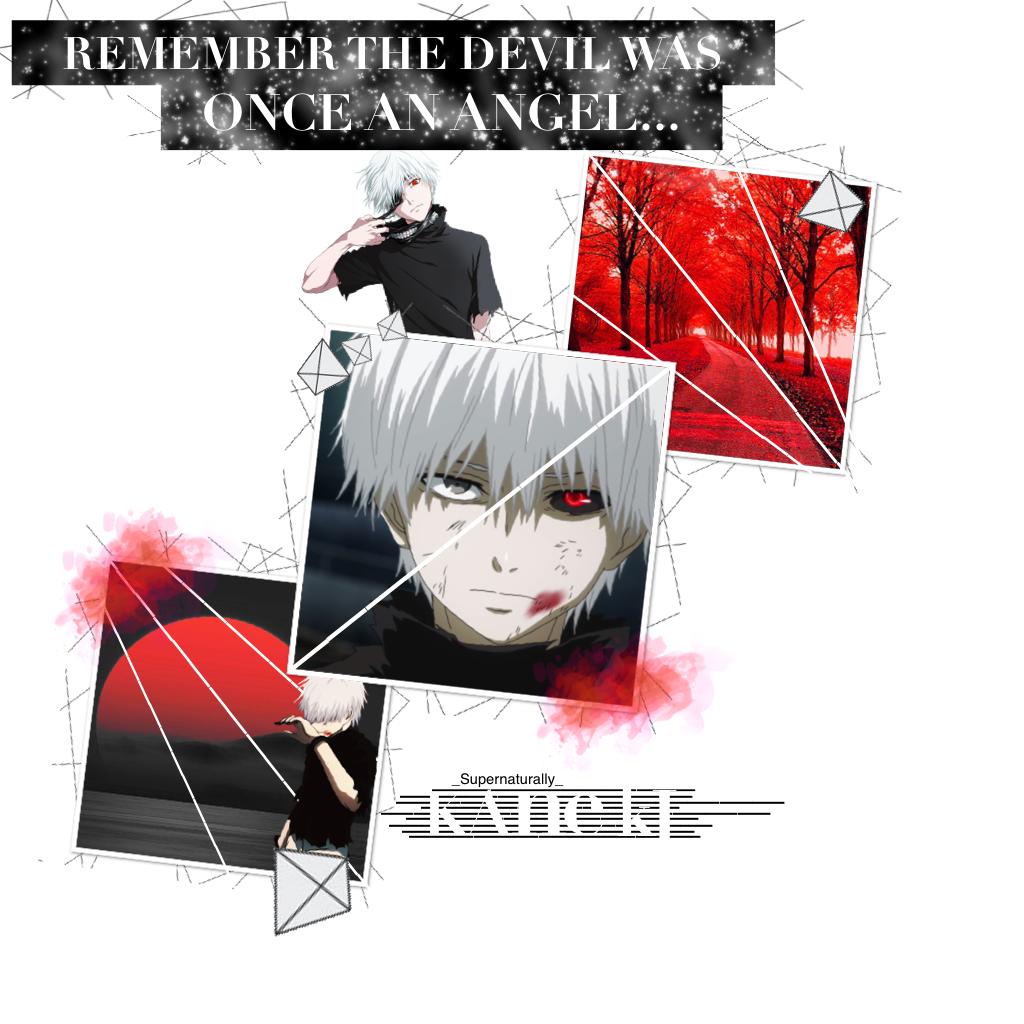 Tokyo Ghoul - Ken Kaneki  Requested by @Saihoon  Hope you like it💕