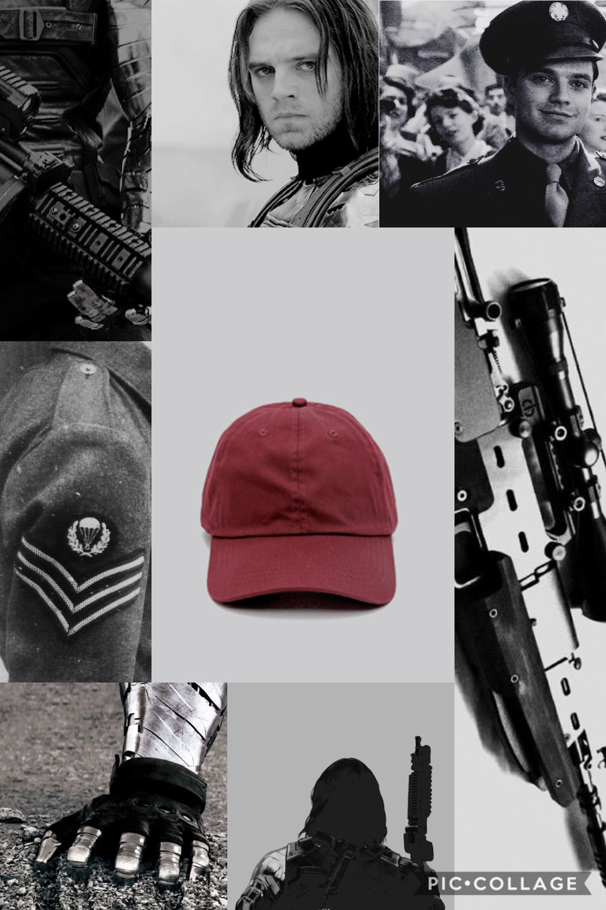 ❤️Tap❤️ Lol you thought y'all got rid of me. Sorry I haven't been active. Blame school. I'm going to be posting simple aesthetics for now, so here's Bucky! ❤️🖤