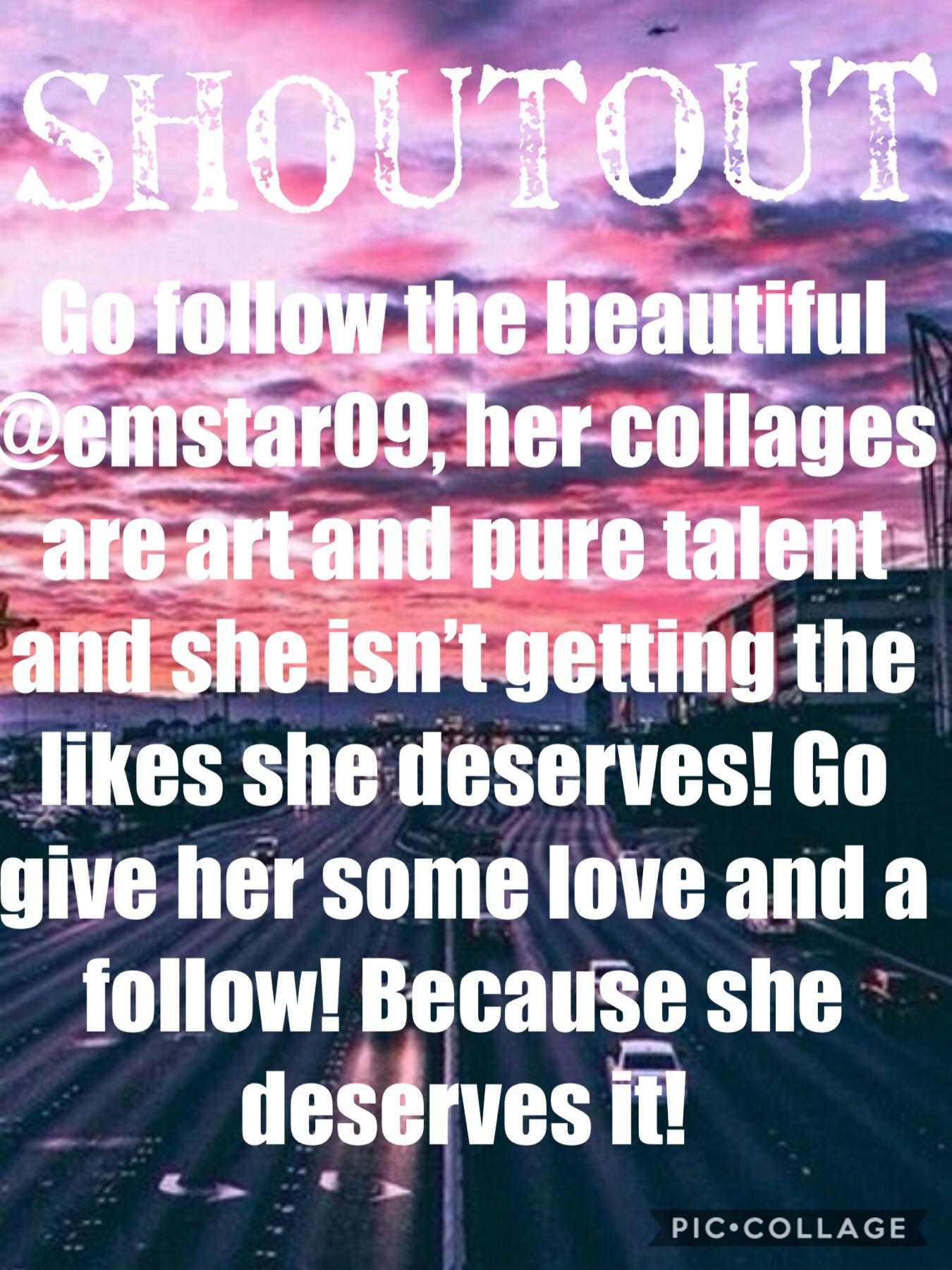 GO FOLLOW HER  @emstar09 🤩❤️