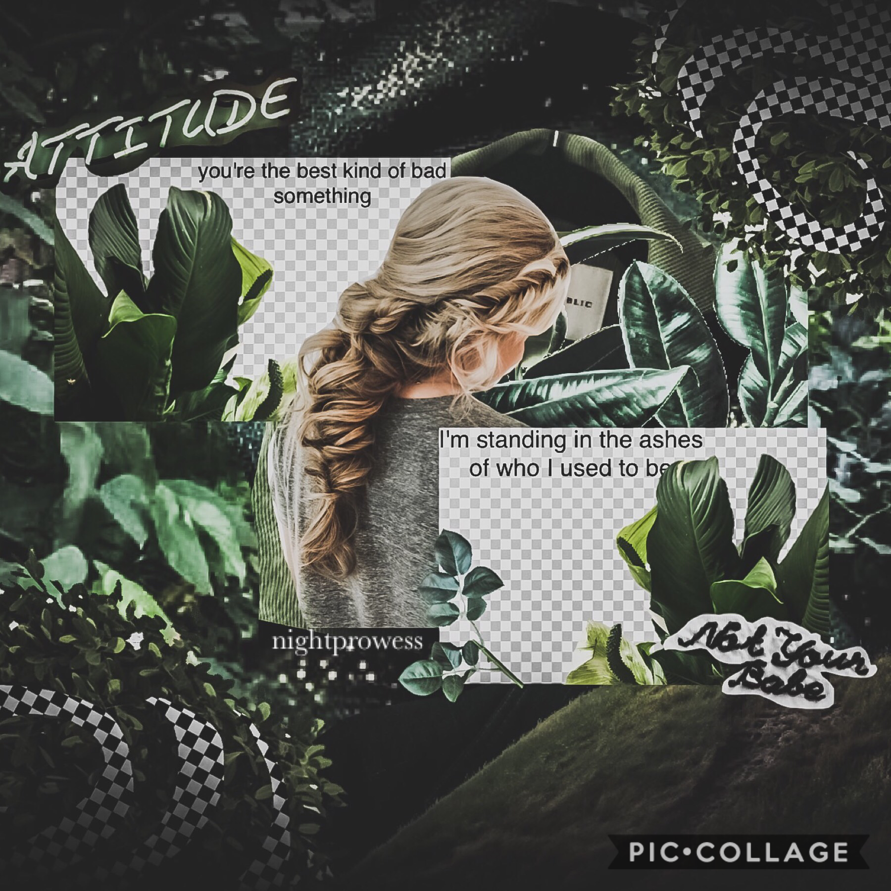 🖤t a p🖤 I'm not going to sugar coat this. I'm considering leaving PicCollage. My collaging skills have obviously regressed and there's very few friends of mine here now.  Check Comments.