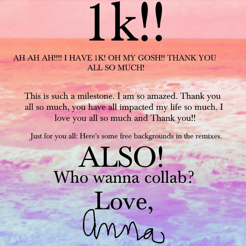 THANK YOU THANK YOU THANK YOU!! ilysm guys!!