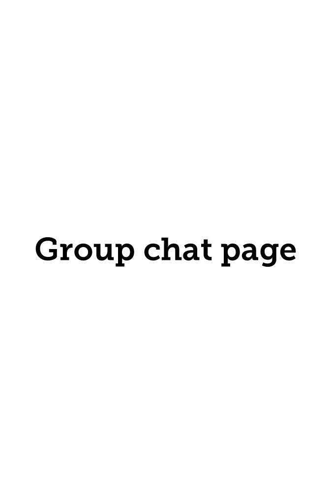 Group chat page