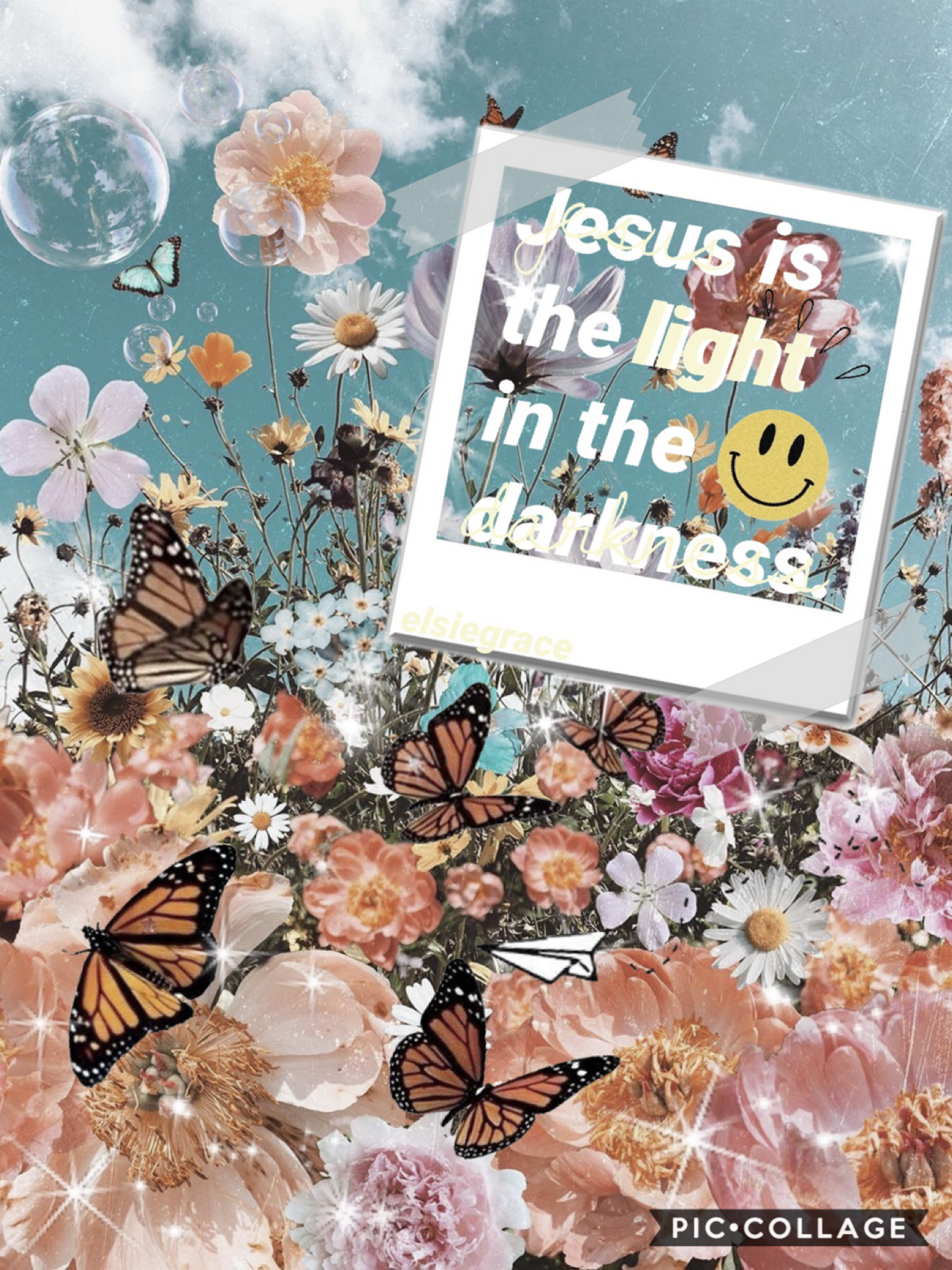 He is the light!