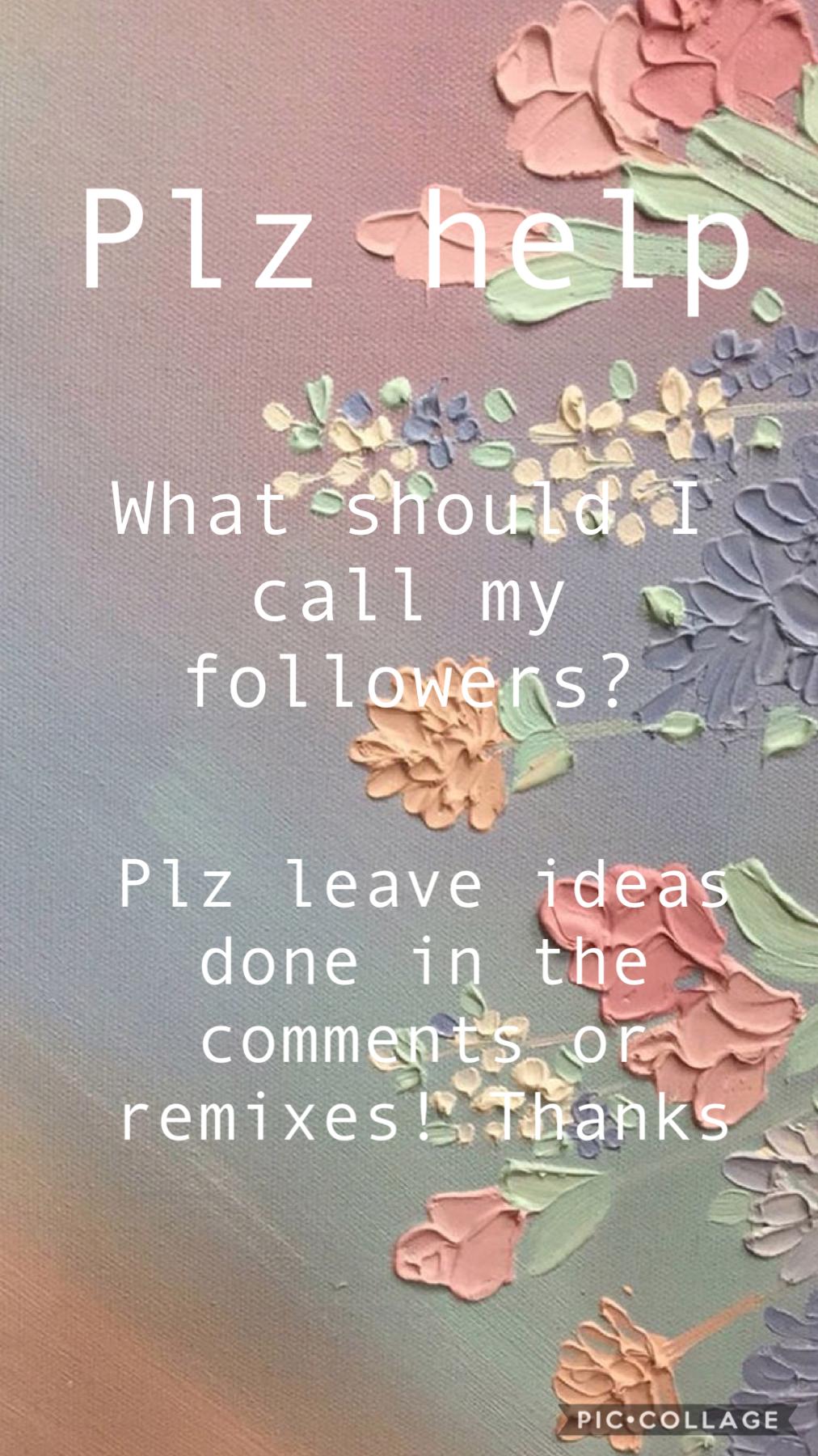 Plz leave a comment or remix!!