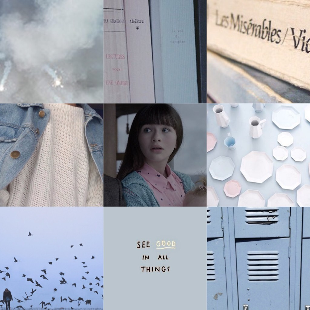 """📘🌎""""In a world of abandoned items and discarded materials, Violet knew there was always something."""" Violet Baudelaire Follow my Tumblr A-Fangirls-Aesthetic🌎📘"""