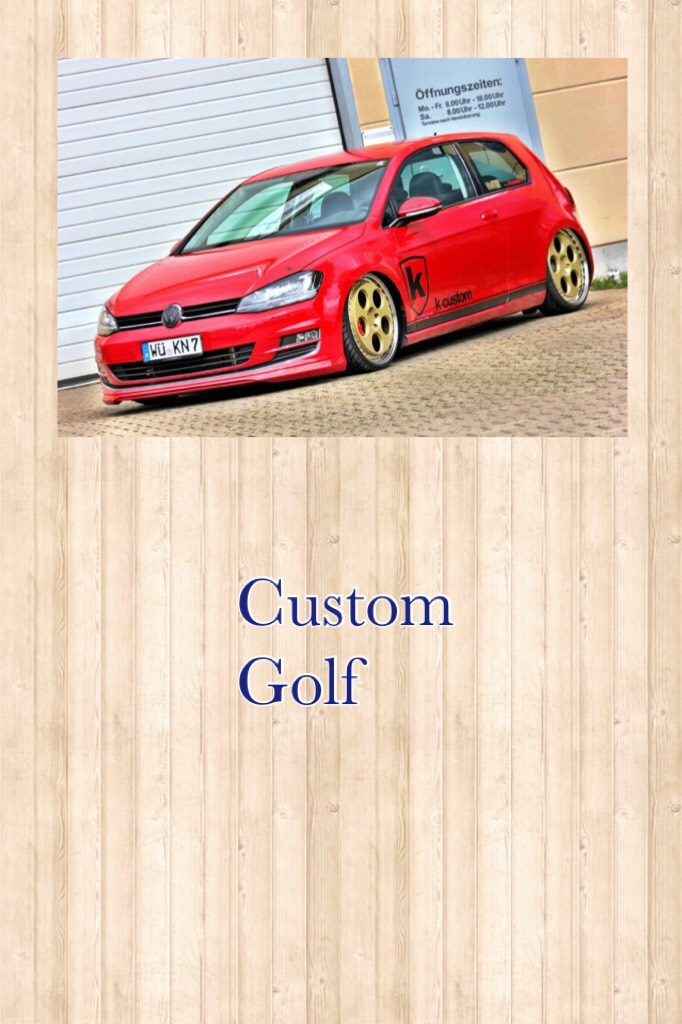 Custom Golf