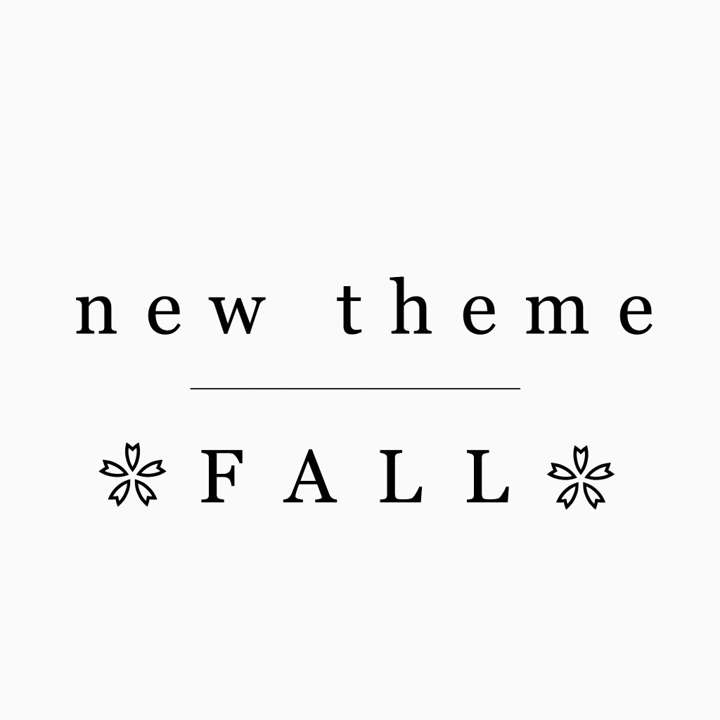 HEY I'm back for fall!🍁😉