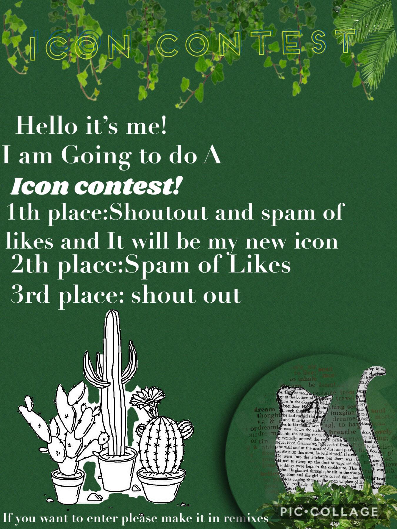 Icon Contest!! 💕