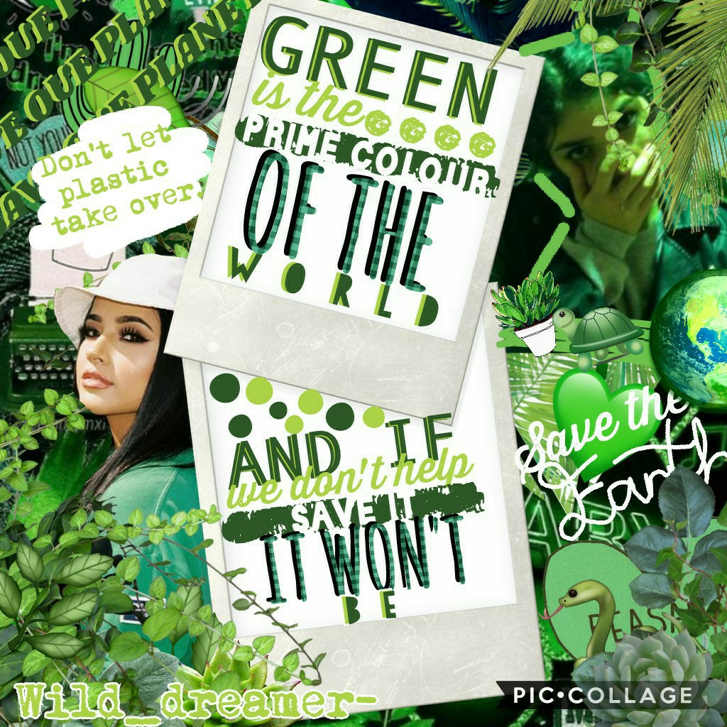 🌱💚SAVE OUR EARTH💚🌱 OK so we need to start saving the world NOW. Not tommorow or next week, NOW. SaVe ThE tUrTlEs.(sksksksk and I oop) QOTD: whats ur fave color?  plz REMIX the answer!! tysm!💚🌱