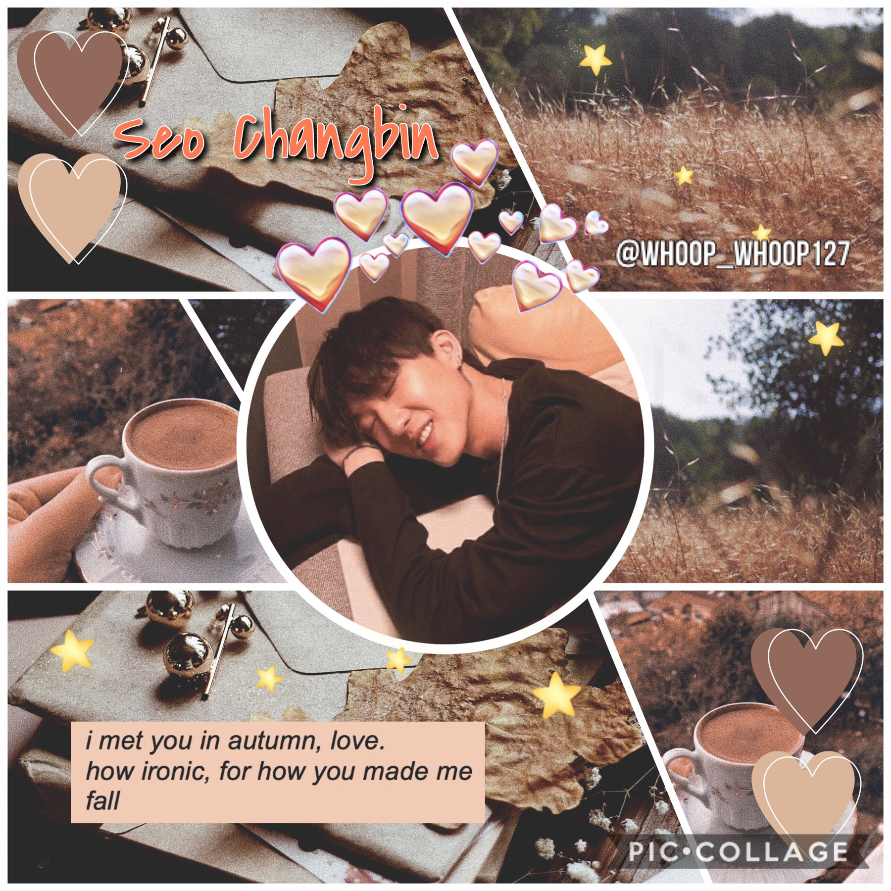 •🚒• 🍂Changbin~Stray Kids🍂 Really vibing with the autumn aesthetics🤙 I'm sure you all heard the news about Hwall leaving The Boyz and Woojin leaving SKZ... I'm still extremely shocked and sad but we got to support them no matter what❤️ SKZ 9 or none :') *D