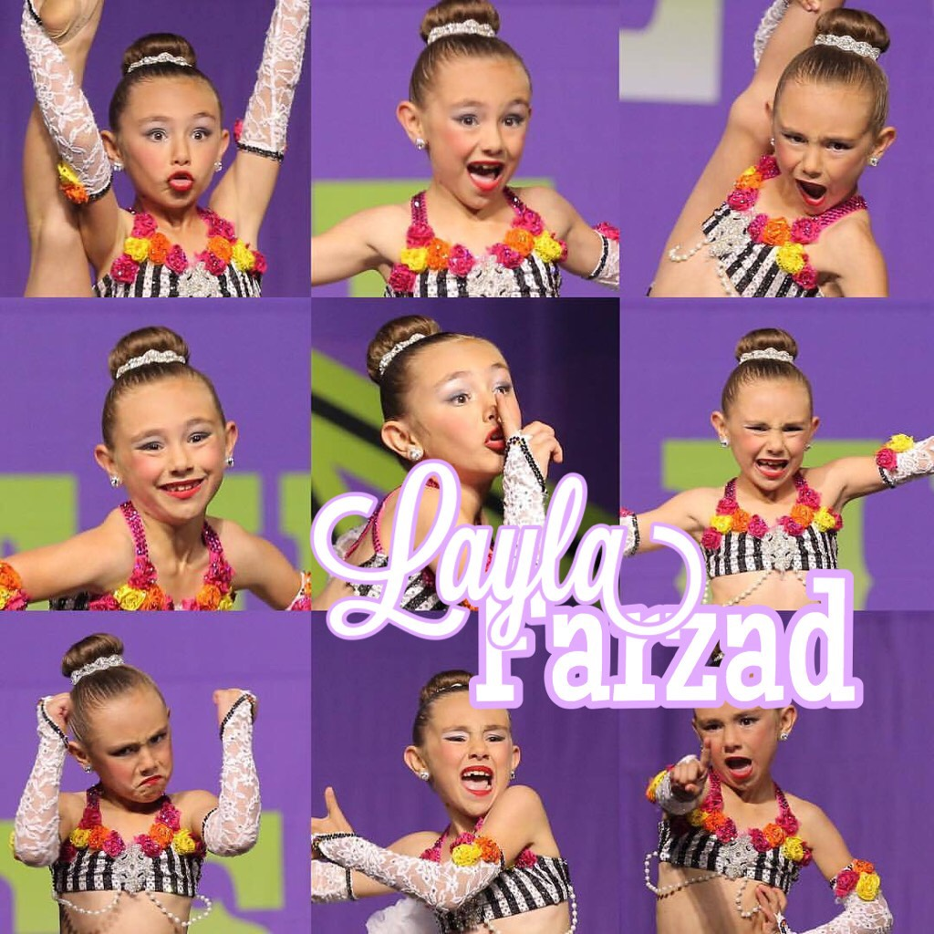 Click Layla Farzad is a junior at OCPAA She is competing age nine Pics are from her solo Oh So Quiet