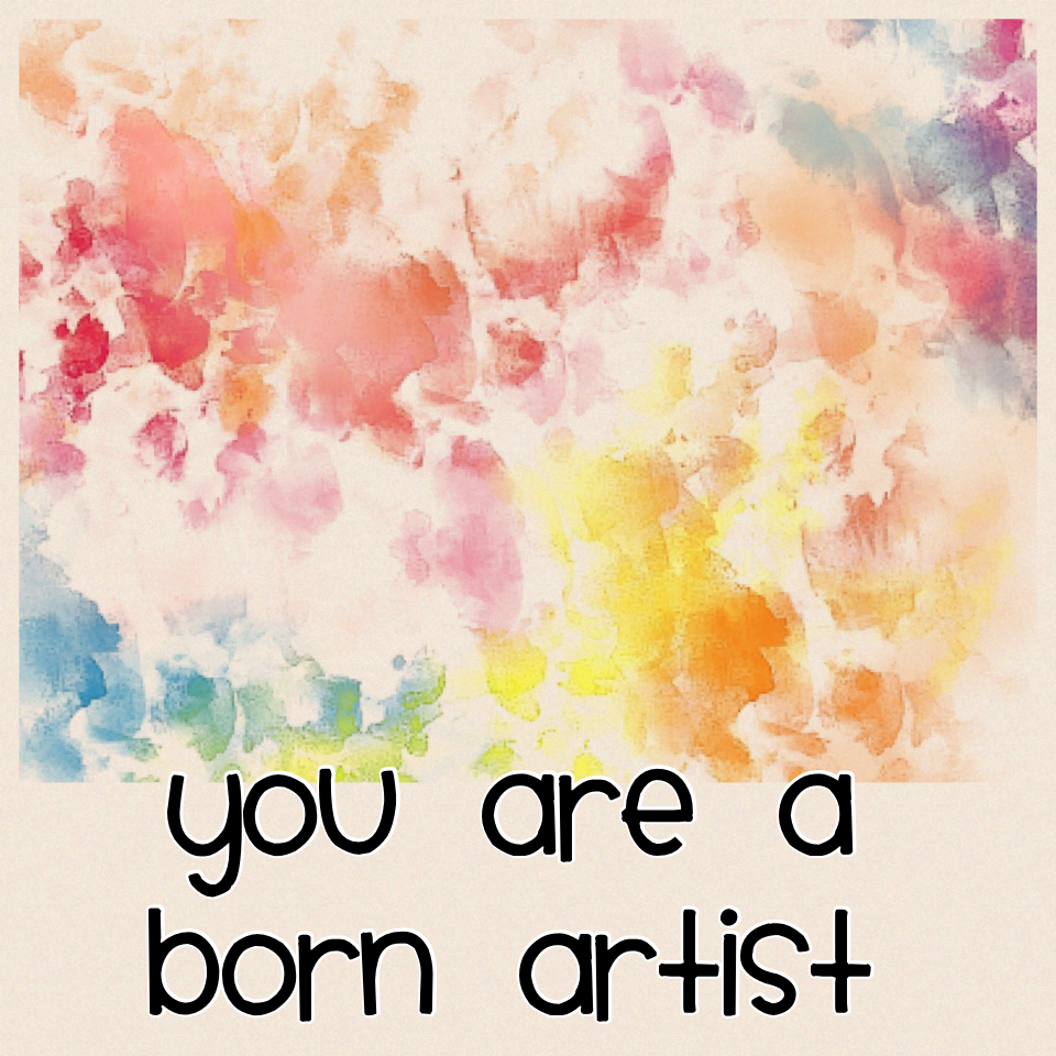 You are a born artist  What is you fav art picture