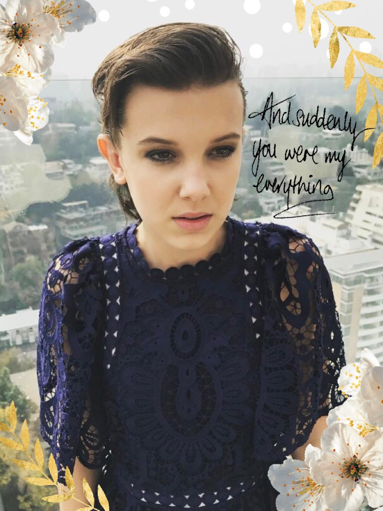 MILLIE BOBBY BROWN!😍😍 I love her so much! Comment if you watch stranger things!!