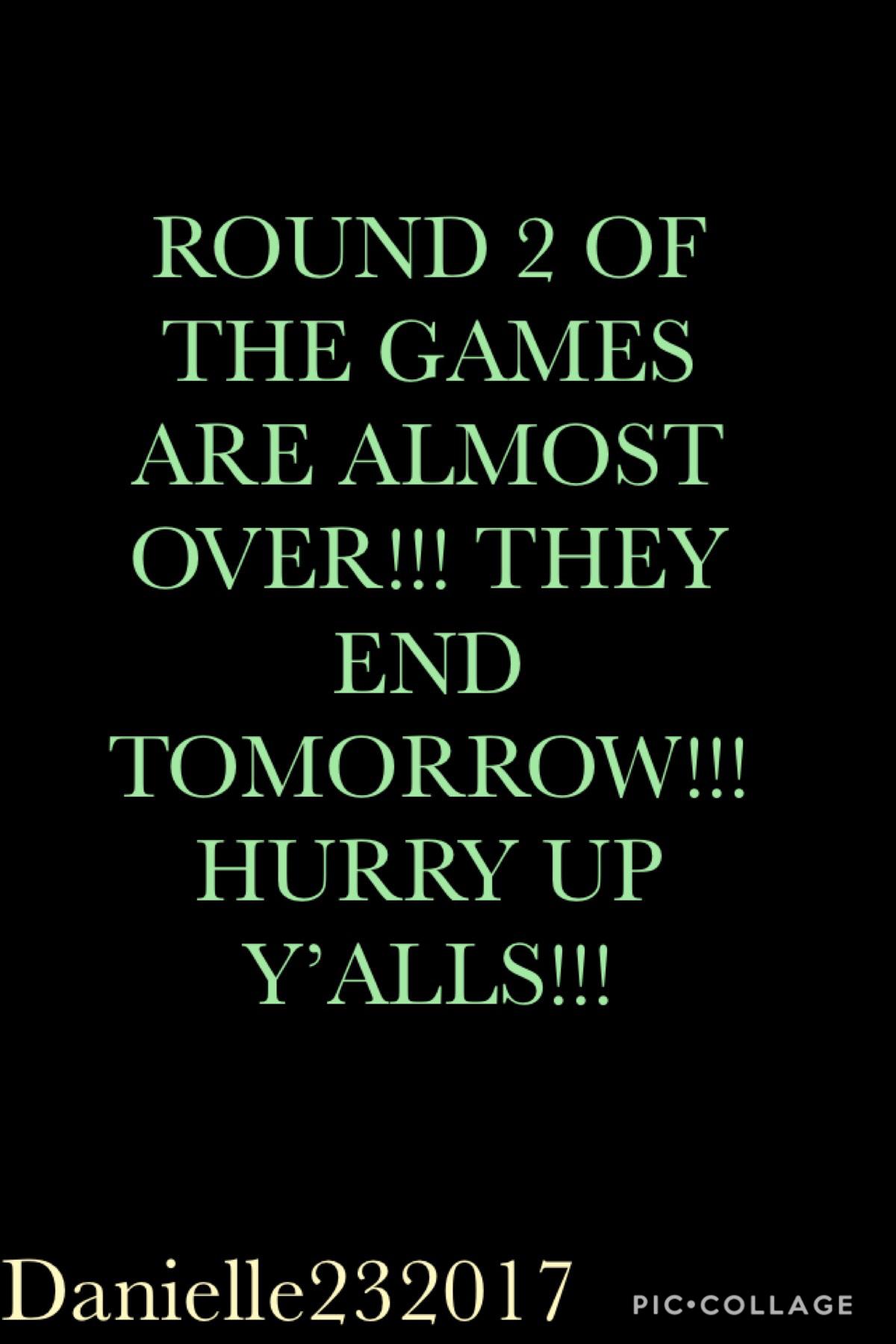Hurry y'alls
