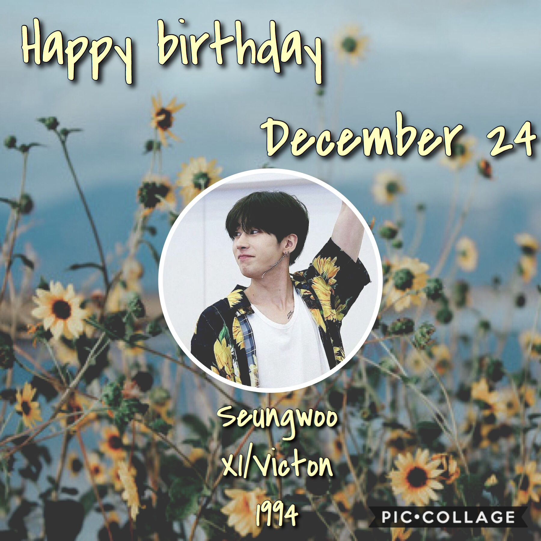 •🎈❄️• Happy birthday Seungwoo! He's so talented and deserves to be in his spot in X1❤️  ⛄️❄️~Whoop~❄️⛄️