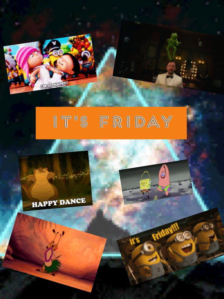 It's Friday 👋🏼👋🏼🤗🤗👊🏼👊🏼