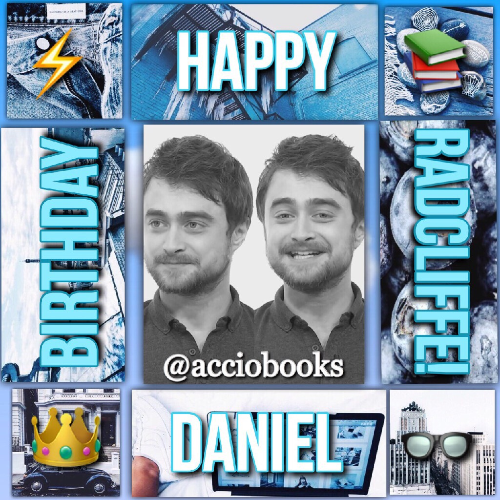 Sorry, I know this is off-theme but HAPPY BIRTHDAY DANIEL RADCLIFFE!⚡️👑📚