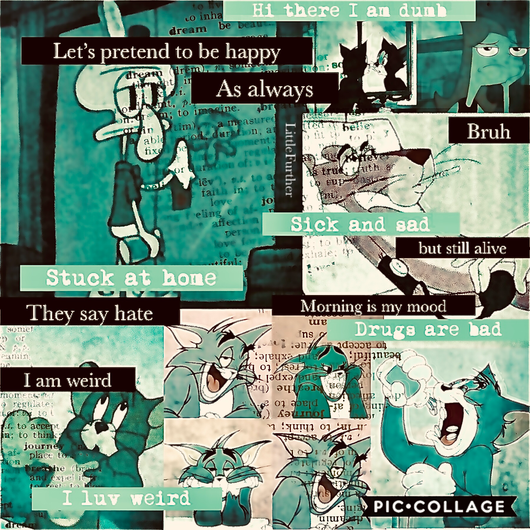 Two collage in a week ? Wow I am proud of myself so what's this collage ? It's a mood my mood during this quanrantine being at home in a rainy day enjoy !